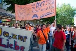 Demo Marburg LFT 2007