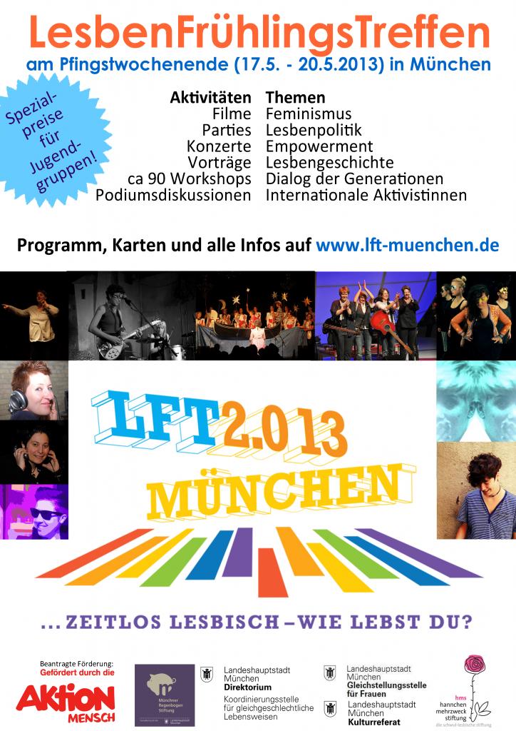 LesbenFrühlingsTreffen 2013 in München
