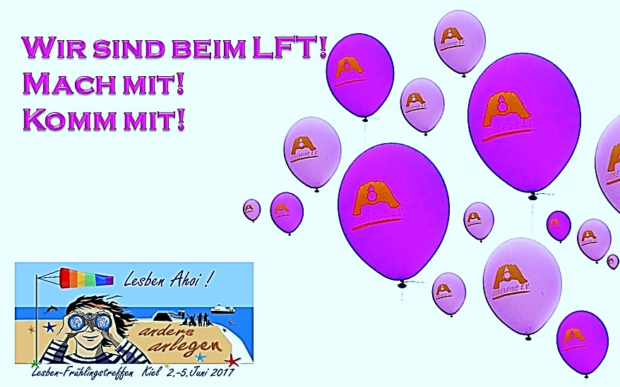 Auf geht's zum LFT 2017 in Kiel!