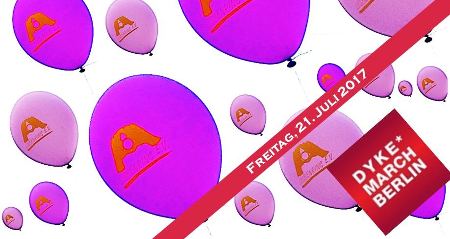 Macht mit! Sichtbarkeit und lesbische Vielfalt! Aufruf zum Dyke March Berlin!